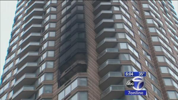 Investigators work to pinpoint cause of West Side high rise fire