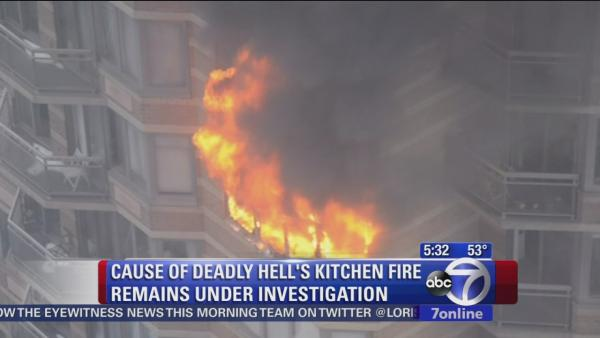 Investigation continues into cause of deadly Hell's Kitchen high-rise fire