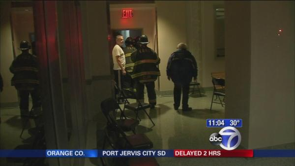 Fire department helps buildings without heat