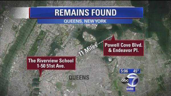 Remains found 11 miles from where Avonte Oquendo disappeared