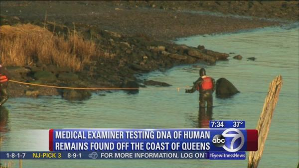 DNA tests to be conducted on remains found in Queens