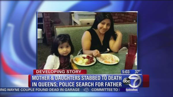 Mom, daughters stabbed to death in Queens