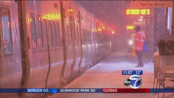 Reduced LIRR schedule due to snow