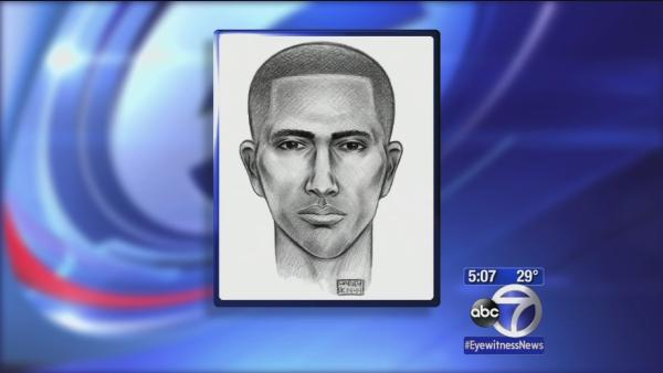Sketch of suspect in midtown attack released