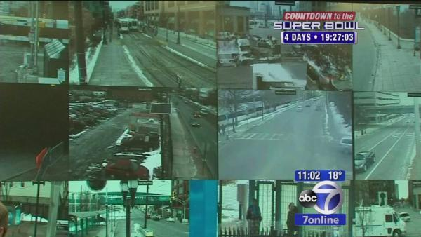 Cameras watching over Jersey City ahead of Super Bowl