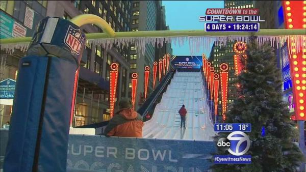Super Bowl Boulevard opens Wednesday