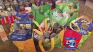 Teen goes Above and Beyond to collect food