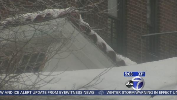 Weather causes roof to collapse in Bronx