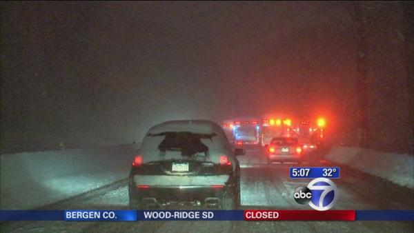 Travel remains hazardous around Westchester