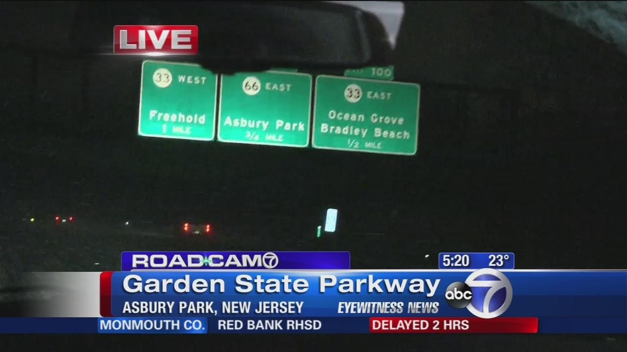 Traffic Conditions Garden State Parkway Garden Ftempo