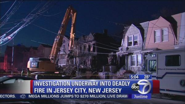 Investigation continues into deadly Jersey City fire