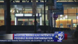 Long Island hospital warns of possible blood contamination