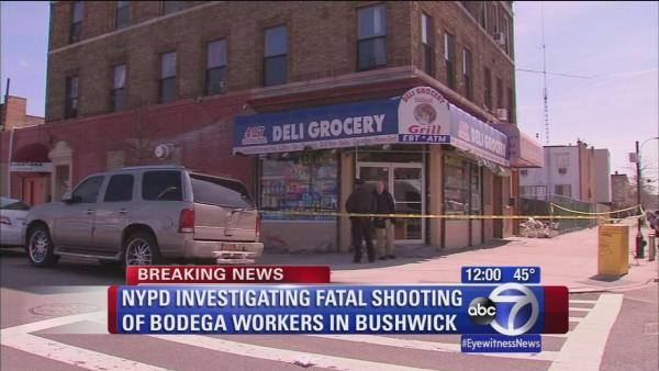 Fatal shooting in Bushwick bodega