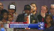 Ras Baraka declares victory in race for mayor of Newark