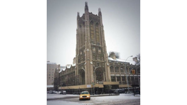 Riverside Church at Broadway and 120 Street on the Upper West Side