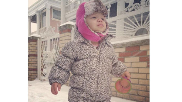Leopard snow princess in Brooklyn