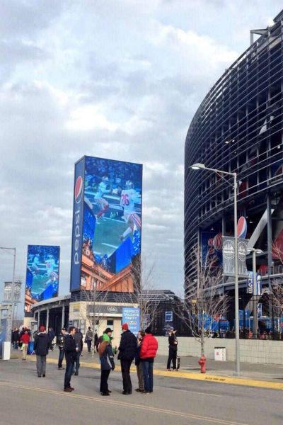 A look outside MetLife Stadium.  <span class=meta>(Photo&#47;Kemberly Richardson &#40;@KemRichardson7&#41;)</span>