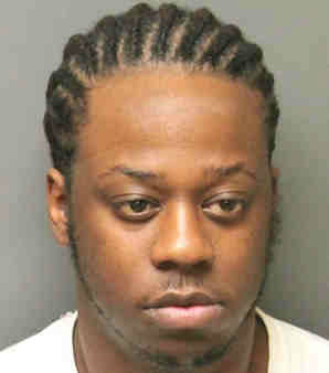 Alvin Durham, 25, of Roselle. He is facing charges of second degree Unlawful Possession of a Handgun.