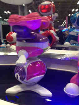 New York City was transformed into a magical playground when hundreds of thousands of innovative playthings were unveiled at the opening of the 111th American International Toy Fair at the Javits Center.