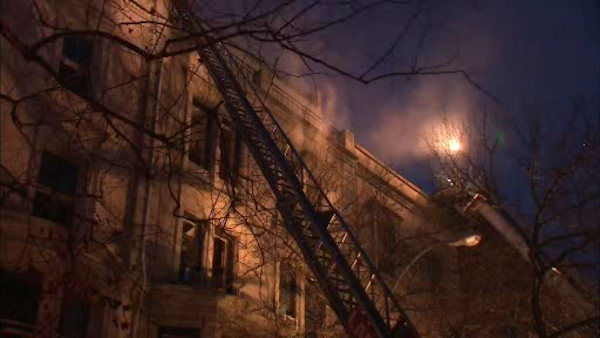"<div class=""meta ""><span class=""caption-text "">A 4-alarm fire broke out on West 76th Street on Thursday night. (WABC Photo/ WABC)</span></div>"