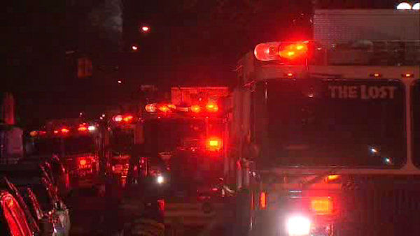 A 4-alarm fire broke out on West 76th Street on Thursday night. <span class=meta>(WABC Photo&#47; WABC)</span>