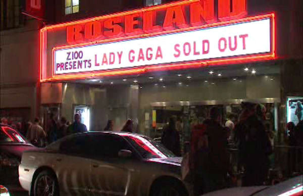 Lady Gaga at Roseland <span class=meta>(ABC Photo&#47; Eyewitness News)</span>
