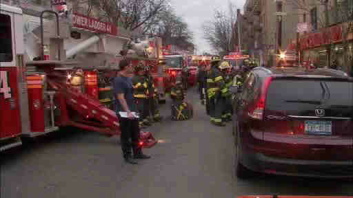 Several people were injured after shelves collapsed at a 99 cent store in the Bronx.