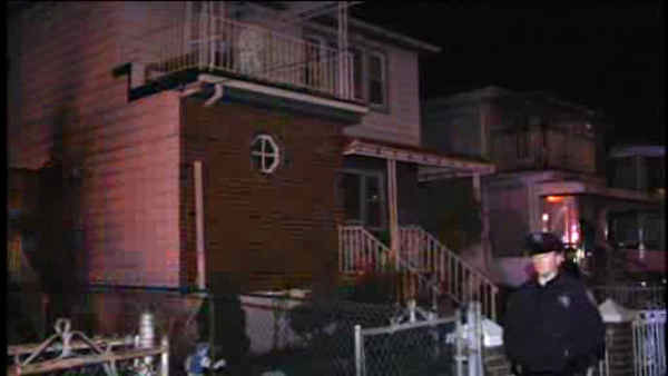 Two children, both age 4, were killed when fire broke out in a home in Far Rockaway, Queens late Saturday night.