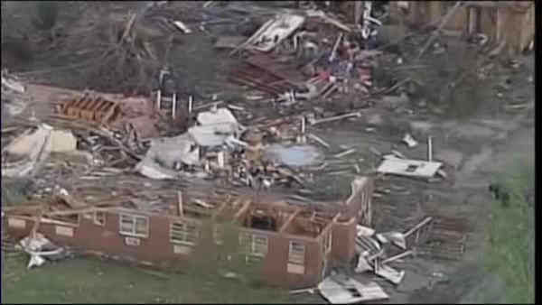 "<div class=""meta image-caption""><div class=""origin-logo origin-image ""><span></span></div><span class=""caption-text"">Tornadoes swept through the central and southern United States over the weekend, leaving a path of destruction and killing more than a dozen people. The death toll continues to rise from the biggest tornado outbreak of the year so far.</span></div>"