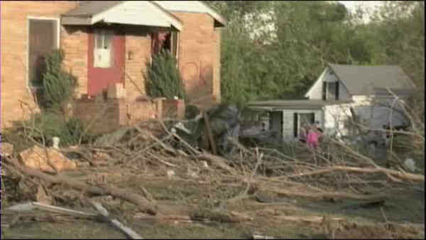 "<div class=""meta ""><span class=""caption-text "">Tornadoes swept through the central and southern United States over the weekend, leaving a path of destruction and killing more than a dozen people. The death toll continues to rise from the biggest tornado outbreak of the year so far.</span></div>"