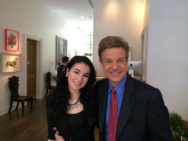"Entertainment reporter Sandy Kenyon and Oceanside High School student Jackie Xerri sat down with the cast of ""The Amazing Spider-Man 2"""