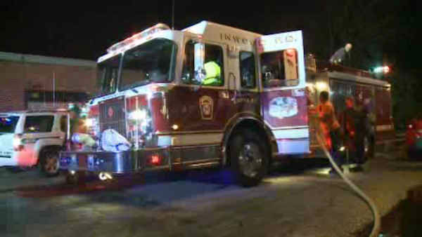 Three ambulances were destroyed by fire early Friday morning in Inwood, Long Island.
