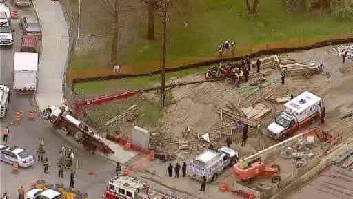"<div class=""meta image-caption""><div class=""origin-logo origin-image ""><span></span></div><span class=""caption-text"">Two workers were injured when a cherry picker appeared to turn over at a construction site in the Canarsie section of Brooklyn.</span></div>"