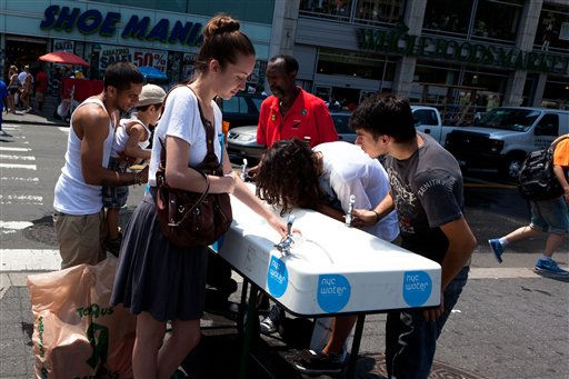 Extreme heat grips New York area