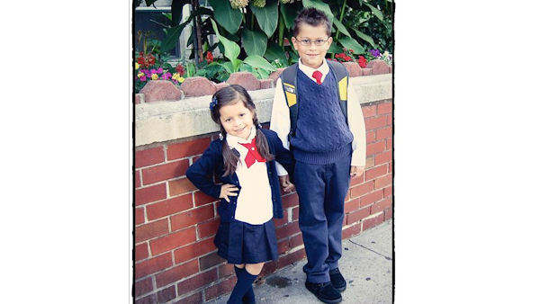 Back to school for Alexander and Nicole