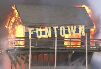 "<div class=""meta ""><span class=""caption-text "">Fire crews are on the scene battling huge blaze at the Kohrs Custard shop on the boardwalk in Seaside Park, New Jersey.</span></div>"