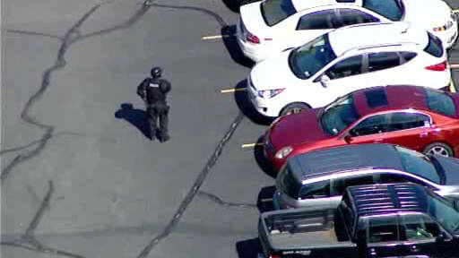 Schools were placed in lockout mode and Roosevelt Field Mall was put on lockdown after a shooting nearby in Garden City.