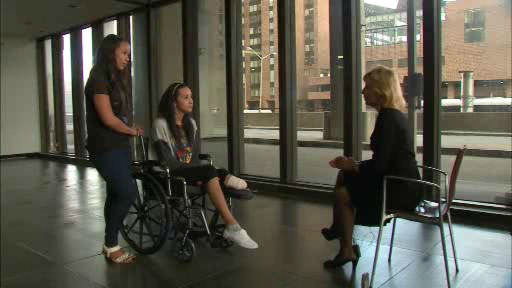"<div class=""meta ""><span class=""caption-text "">Sian Green spoke to Eyewitness News just before she was released from the hospital a month after the tourist was struck by a cab in midtown.</span></div>"