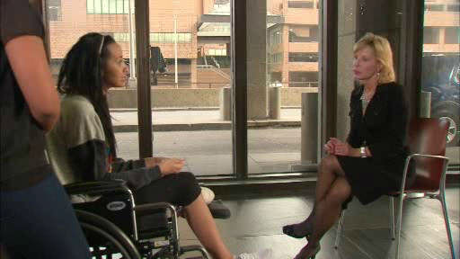 Sian Green spoke to Eyewitness News just before she was released from the hospital a month after the tourist was struck by a cab in midtown.