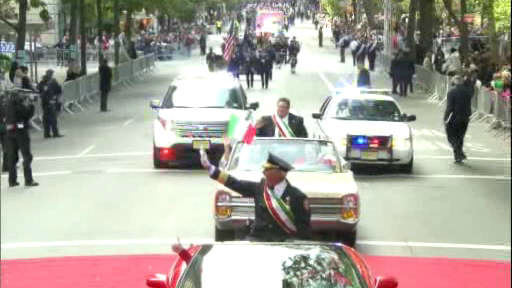 "<div class=""meta ""><span class=""caption-text "">Thousands lined the streets of New York City, for the annual Columbus Day Parade that was seen on Channel 7, 7online and our apps!</span></div>"