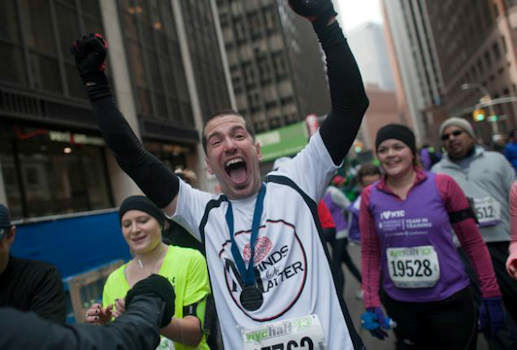 Bryan Steinhauer made international headlines as the victim of a brutal beating five years ago. After not being expected to survive, he not only recovered, Steinhauer set a goal to run the 2013 ING New York City Marathon.