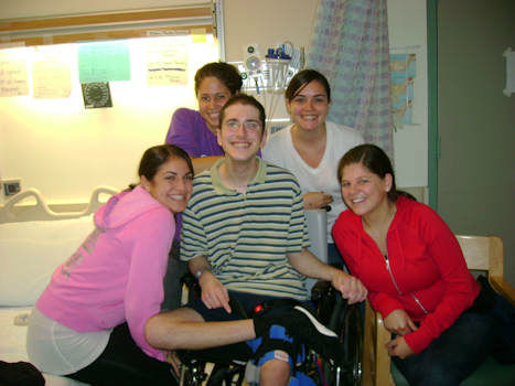 "<div class=""meta image-caption""><div class=""origin-logo origin-image ""><span></span></div><span class=""caption-text"">Bryan Steinhauer made international headlines as the victim of a brutal beating five years ago. After not being expected to survive, he not only recovered, Steinhauer set a goal to run the 2013 ING New York City Marathon.</span></div>"