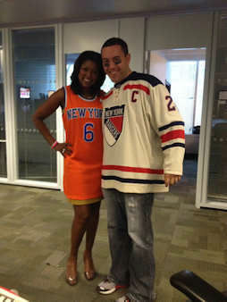 Eyewitness News staff gets in the spirit by dressing up on Halloween!