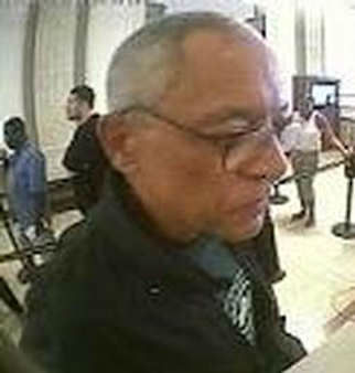"On Friday, August 2, 2013, at approximately 10:24 A.M., the perp pictured entered Astoria Federal Savings bank located at 1550 Flatbush Avenue, Brooklyn, NY in the 70 Precinct and approached the bank teller and stated, ""I NEED MONEY, GIVE ME 100's, 50's, 20's AND I HAVE A GUN"" and then reached into his jacket, gesturing as though he had a gun, but did not display one. Please call Crime Stoppers at 1(800)577-TIPS. All calls remain anonymous & confidential."