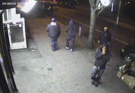 ON Thurs., JANUARY 10, 2013 AT APPROX.9:30 P.M., IN FRONT OF 269 MACON ST. IN THE CONFINES OF THE 79 Pct in BROOKLYN, THE 2 PERPETRATORS FACING THE CAMERA SHOT&KILLED IVAN GIOVANETTINA. THe NYPD will pay $10,000 for any information leading to the arrest&conviction of the person(s)responsible for this crime.Crimestoppers will pay up to $2,000 for the arrest&indictment of the person(s) responsible for this crime. Please call Crimestoppers at 1(800)577-TIPS. All calls remain anonymous & confidential