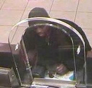 On Friday, March 8, 2013, at approximately 9:57 A.M., inside Chase Bank located at 498 7th Avenue, in the confines of 14 Precinct in Manhattan, the perpetrator pictured above gave the teller a note and demanded money. This perpetrator is also wanted in connection with other commercial robberies. PLEASE CALL CRIME STOPPERS AT 1(800)577-TIPS. ALL CALLS REMAIN ANONYMOUS AND CONFIDENTIAL.