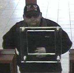 On Saturday, May 4, 2013 at approximately 12:16 P.M.,inside Amalgamated Bank located at 69-73 Grand Avenue in the 104 Precinct in Queens the suspect shown approached a teller and demanded money, that was place in a black plastic bag. PLEASE CALL CRIME STOPPERS AT 1(800)577-TIPS. ALL CALLS REMAIN ANONYMOUS AND CONFIDENTIAL.