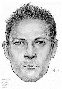 The subject depicted in the sketch raped a 69 year old female on August 26, 2013 at approximately 4:30 p.m. inside of Forest Park near 72 Street and Union Turnpike. The subject used a black Stun Gun during the attack. Suspect is described as a male white, 30 to 40 years old, 5' 10 with a thin build and short hair. The subject was wearing black sweat pants and a black T-shirt. There is a combined reward of $22,000 for the arrest, indictment & conviction of the person responsible. PLEASE CALL CRIME STOPPERS AT 1(800)577-TIPS. ALL CALLS REMAIN ANONYMOUS AND CONFIDENTIAL.