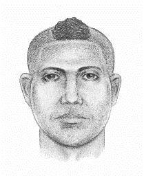 THE PERPETRATOR DEPICTED IN THE SKETCH IS BEING SOUGHT FOR A FORCIBLE TOUCHING THAT OCCURRED ON SATURDAY, SEPTEMBER 21, 2013 AT APPROXIMATELY 9:10 P.M., IN THE VICINITY OF CRESCENT STREET AND HOYT AVENUE IN THE CONFINES OF THE 114TH PRECINCT IN QUEENS, N.Y. THE PERPETRATOR IS DESCRIBED AS A MALE HISPANIC, 20 TO 30 YEARS OLD, MEDIUM BUILD, A SHAVED HEAD WITH A MOHAWK, WEARING LIGHT BLUE JEANS AND A DARK JACKET WITH A RED STRIPE ON BOTH SLEEVES. THE PERPETRATOR WAS RIDING A SILVER&GREEN BIKE. PLEASE CALL CRIME STOPPERS AT 1(800)577-TIPS. ALL CALLS REMAIN ANONYMOUS AND CONFIDENTIAL.