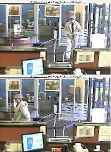 "On Thursday, September 19, 2013 at approx.2:57 P.M.,inside Northfield bank located at 3227 Richmond Avenue in the confines of the 122 Precinct in Staten Island, the perpetrator pictured gave the teller a hand written demand note that was written on a plastic bag. The demand stated, ""I NEED TO FEED MY FAMILY, GIVE ME YOUR 50'S, I REALLY DON'T TO HURT YOU."" The perpetrator is described as male white, pale skin tone, 30-40 years old, medium build, 170 pounds, 5'10"" to 6'0"" tall, wearing sunglasses. PLEASE CALL CRIME STOPPERS AT 1(800)577-TIPS. ALL CALLS REMAIN ANONYMOUS AND CONFIDENTIAL."